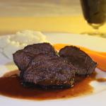 Beef Cheeks Braised in Red Wine