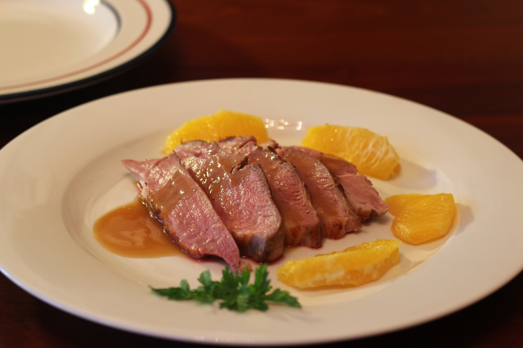 Duck Breast in Orange Sauce ('Magret de Canard à l'Orange ...