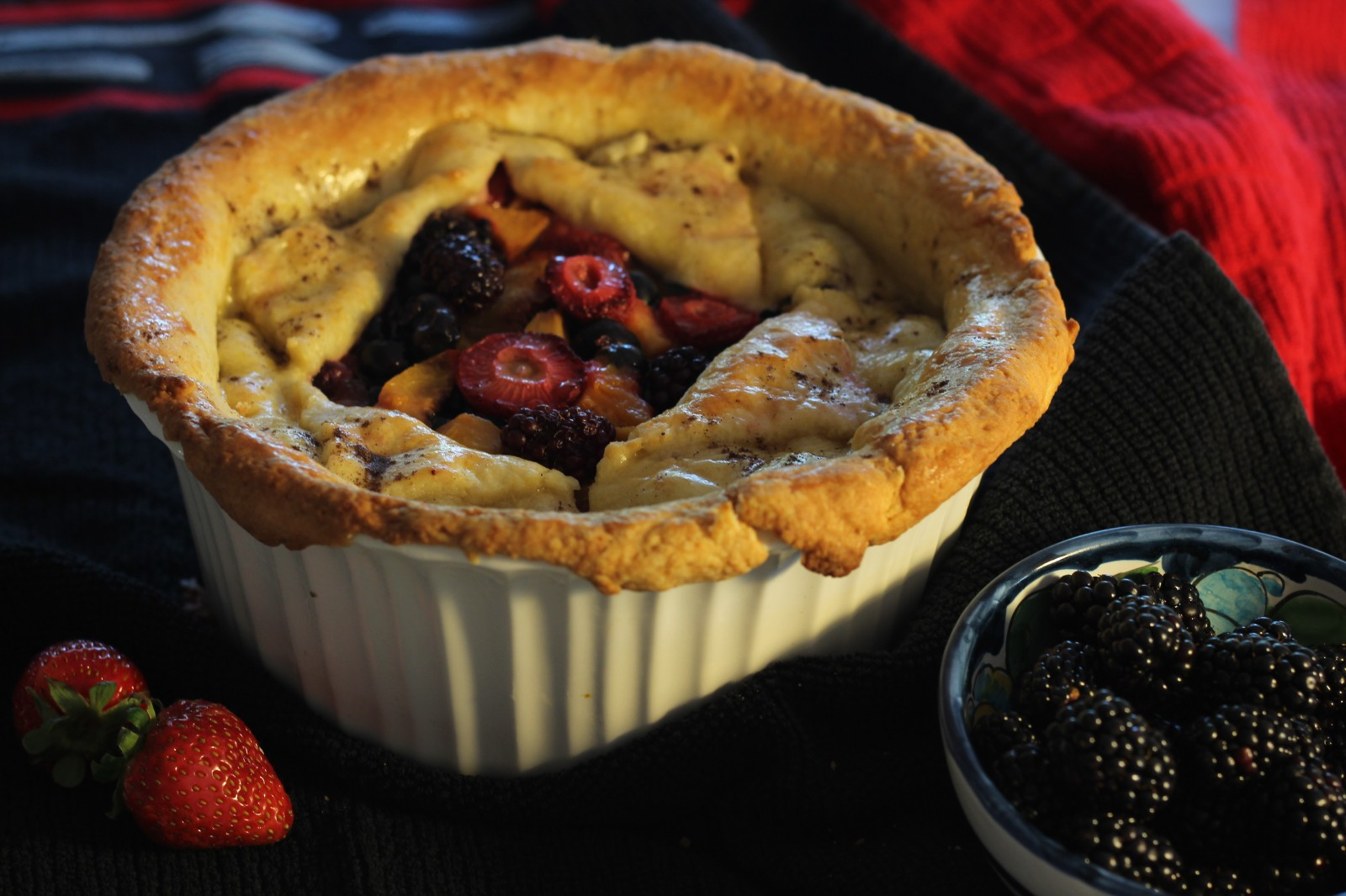 Deep Dish Berry Pie