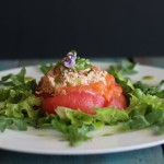 Salmon and Watercress Salad (Cressonière de Saumon Frais en Salade)