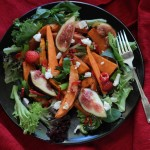 5 Salads in 5 Days: Roasted Sweet Potato and Fig Salad with Balsamic Glaze