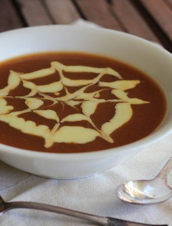 Pumpkin, Pancetta and Sage Soup Cooked in a Pumpkin Shell ...