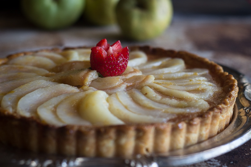 Pear Tart (3 of 3) (1 of 1)