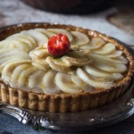 Pear and Frangipane Tart with Apricot Glaze