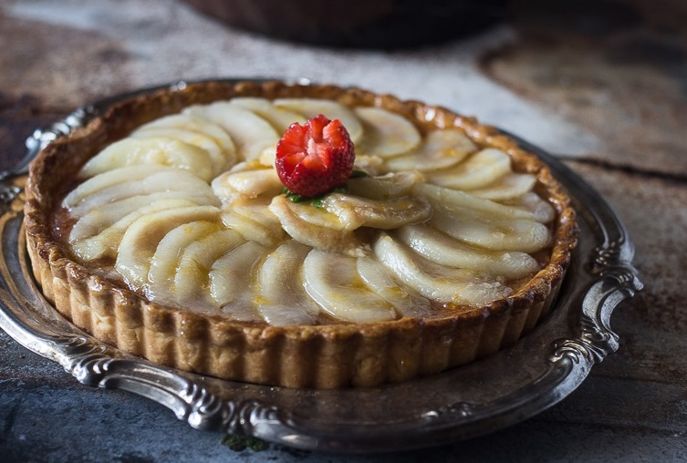Pear Tart Cropped