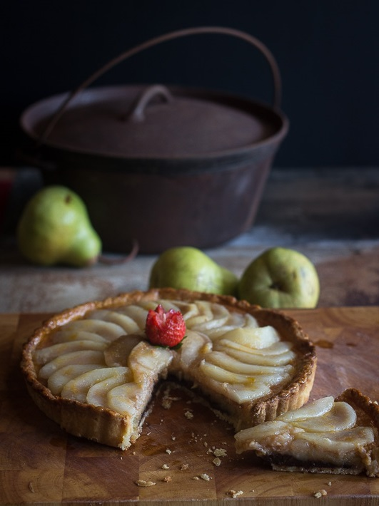 Pear Tart Long Cropped