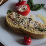 Le Cordon Bleu: Sea Bass Coulibiac + Stuffed Tomatoes