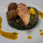 Le Cordon Bleu: John Dory Fillets with red spices, wild rice and tropical fruit