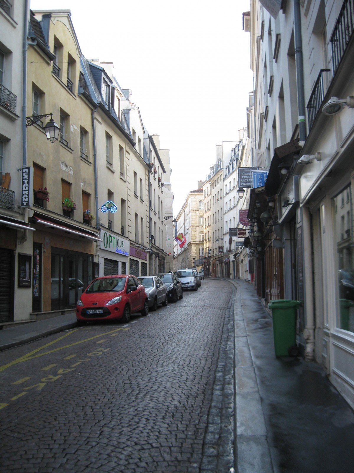 Rue Mouffe Morning