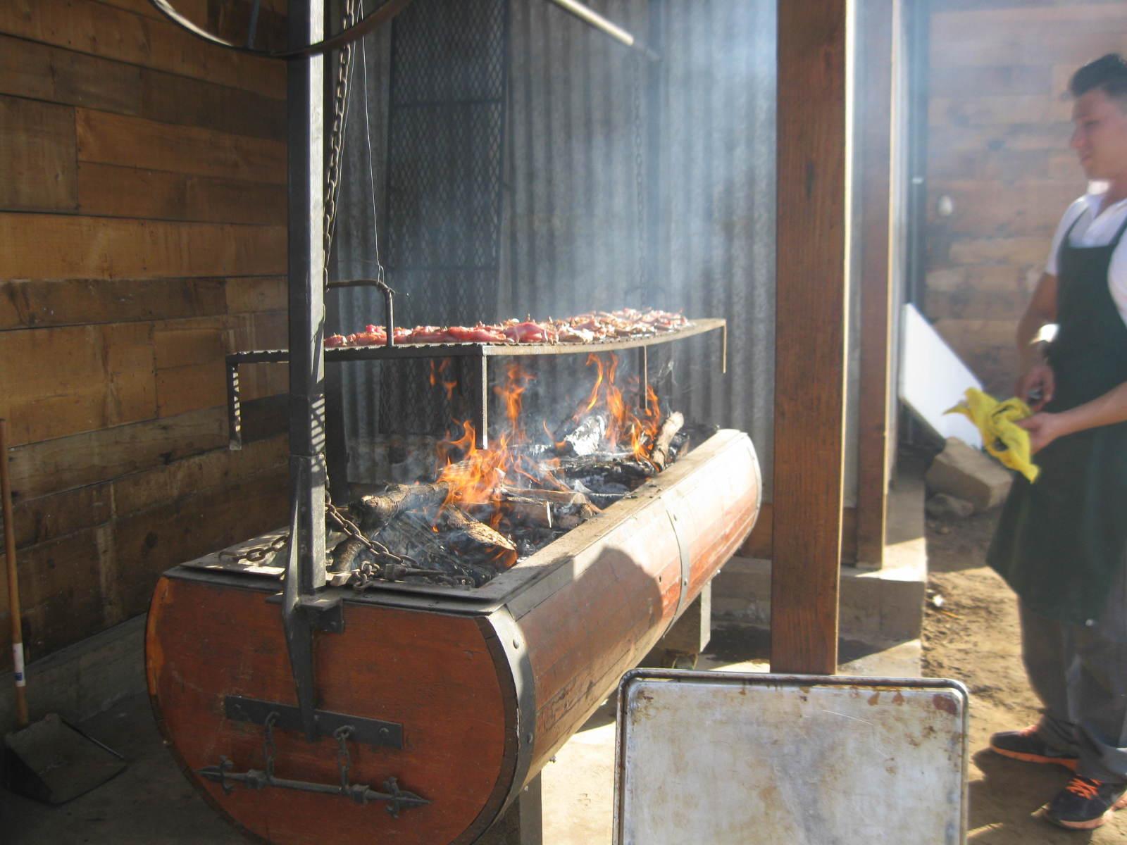 Fire Roast at Finca