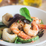 Grilled Calamari and Prawn Thai Salad