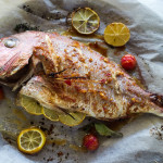 Whole Baked Snapper + How to Carve it Like a Pro!