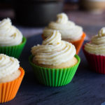 Banana Cupcakes with Butter Cream Icing