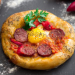 Delicious Breakfast Pizza