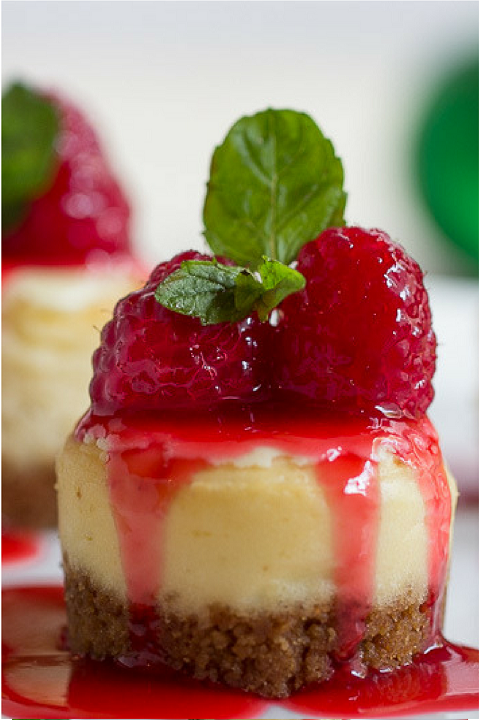 mini-cheesecake