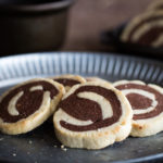 Chocolate and Vanilla Spiral Cookies