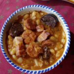 Fabada Asturiana- Spanish White Bean Stew